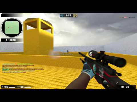 Разнос сервера Counter-Strike: Source V90
