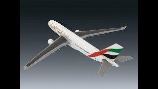 Emirates Bangkok-Dubai | A330 | ROBLOX | Economy