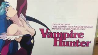 Vampire Hunter(Darkstalkers)The Animated Series complete LD Box Unboxing