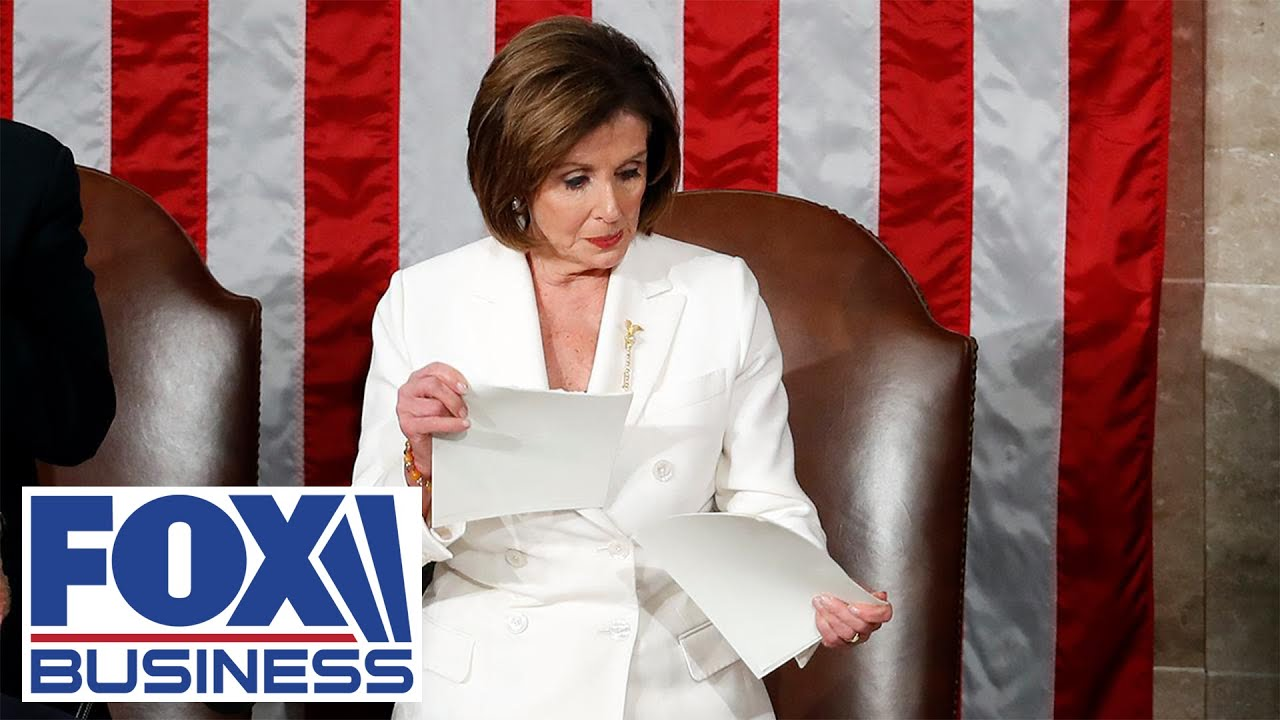 GOP resolution calls to condemn Pelosi for ripping up SOTU speech - FOX Business