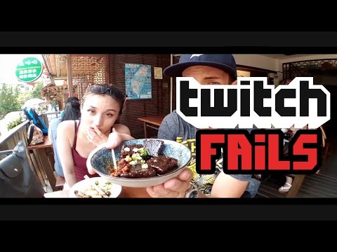 Top 10 Twitch Fails #9 - She vomits on Stream