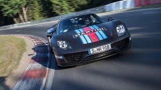 Porsche 918 Spyder 2013 Videos