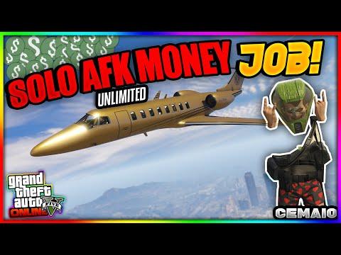 *SOLO MONEY JOB* SOLO AFK GELD MACHEN in GTA 5 ONLINE 1.50