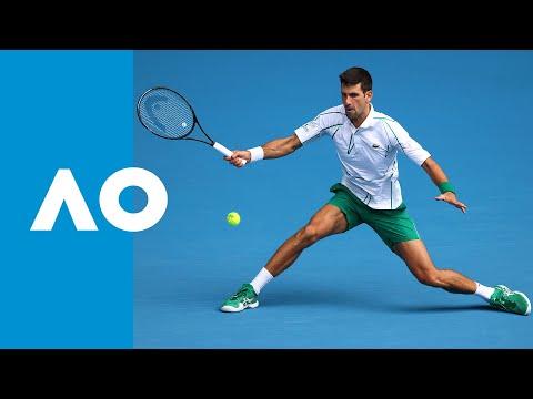 Novak Djokovic Vs Tatsuma Ito - Match Highlights (2R) | Australian Open 2020