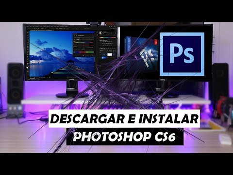 DESCARGAR E INSTALAR PHOTOSHOP CS6 FULL | 2017