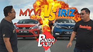 Proton Iriz vs Perodua Myvi, Siapa Lagi Power?