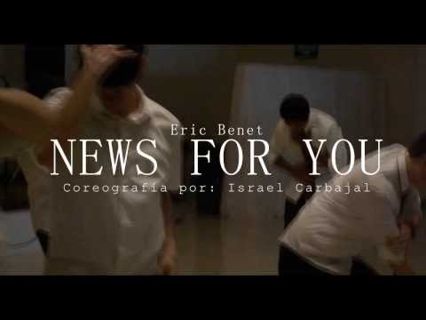 """Israel Carbajal l Choreography """"News for you"""" by Eric Benet"""
