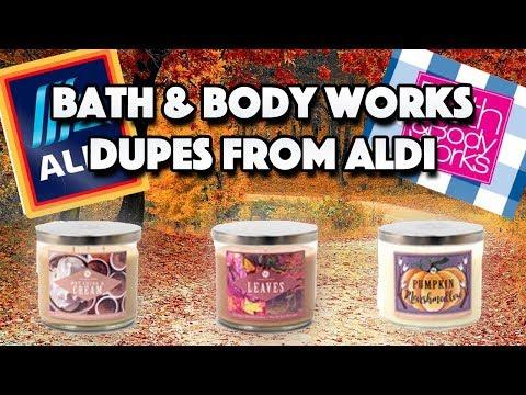 Bath & Body Works Dupes From Aldi   Huntington Home   Fall 2018
