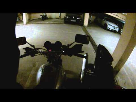 Запуск мотоцикла на холодную