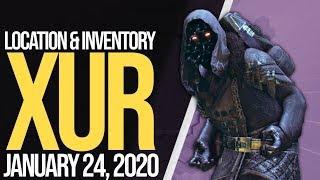 Destiny 2 : XUR LOCATION & INVENTORY JAN. 24, 2019 !discord !instagram !twitter