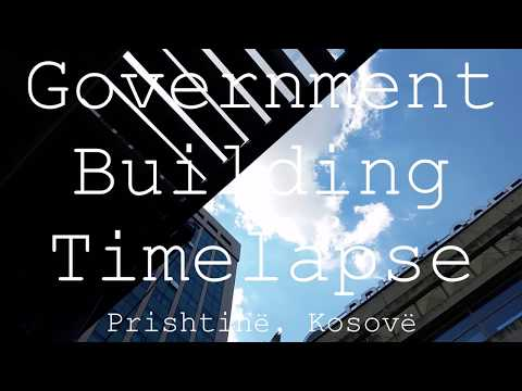 Government Building in Kosovo - TimeLapse