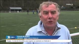 Rugby : le club de Versailles peut espérer se maintenir en Fédérale 3