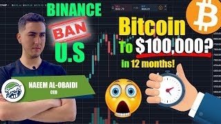Bitcoin BTC To 100,000 In 12 MONTHS Following Binance US Ban Technical Analysis & Price Prediction