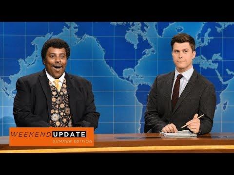 Weekend Update: Neil deGrasse Tyson on the Solar Eclipse - SNL
