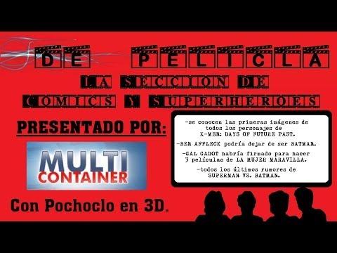 DE PELÍCULA - La sección de comics y superhéroes - SUPERMAN VS BATMAN / X-men 4 / La Mujer Maravilla