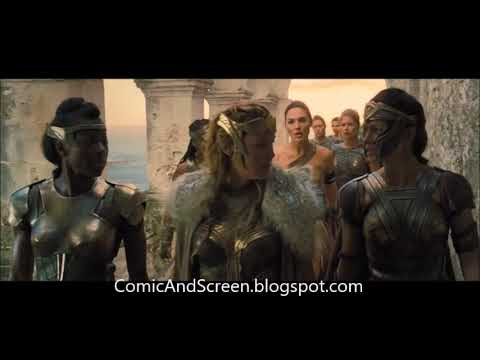 Analysis of WONDER WOMAN - Scene 12 Diana Wants to Help - Justice League Universe Podcast