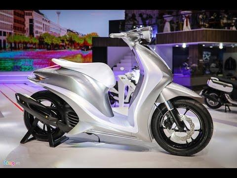 CuongMotor - Yamaha Glorious Concept Lần đầu Trình Làng Thế Giới Tại Việt Nam