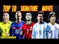 TOP 5 Great Players Signature Moves ► Iniesta ● Messi ● Ronaldo ● Ronaldinho ● Xavi | HD