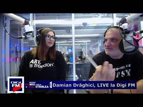 Damian Drăghici și Cristina Stroe, LIVE la Digi FM