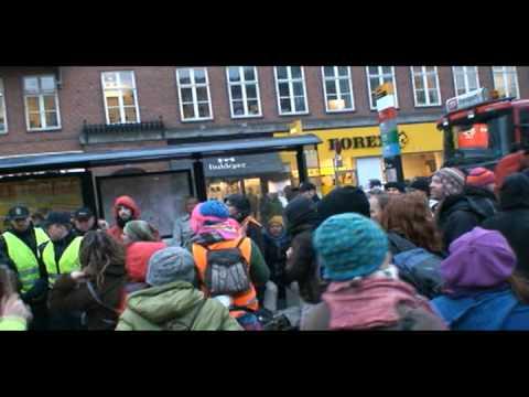 Demonstration in Copenhagen VS agriculture industry