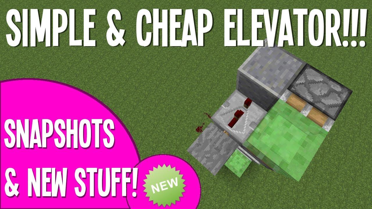 Simple cheap elevator using slime blocks minecraft tutorial simple cheap elevator using slime blocks minecraft tutorial youtube ccuart Gallery