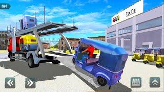 Tuk Tuk Rickshaw Transport Truck Driver - Transporter Simulator - Android Gameplay