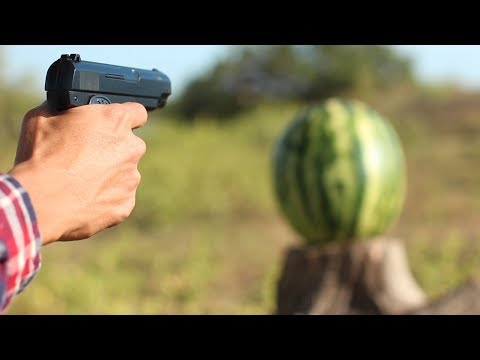 AIRSOFT GUN VS WATERMELON   14 CRAZY EXPERIMENTS AND TRICKS (by Mr. Hacker)