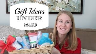 Holiday Gift Ideas Under $20 + GIVEAWAY!
