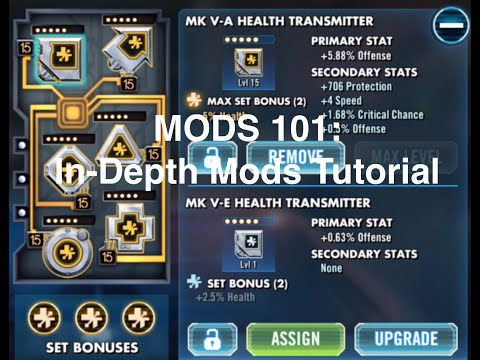Star Wars Galaxy of Heroes: In-Depth Mods Tutorial