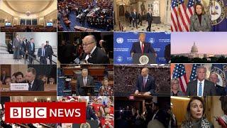 Trump: Twists and turns of impeachment drama - BBC News
