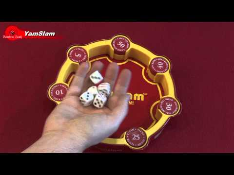 YamSlam Poker Dice Game - Video Review