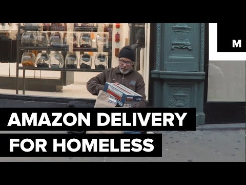 Someone Used Amazon's Same-Day Delivery Service to Help the Homeless