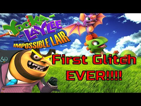 Yooka Laylee and the Impossible Lair FIRST GLITCH EVER!!!! |