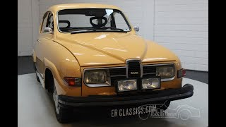 Saab 96L V4 1975 Delivered new in Sweden -VIDEO- www.ERclassics.com