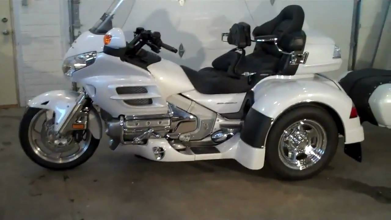 2008 Honda Goldwing Trike with IRS - YouTube