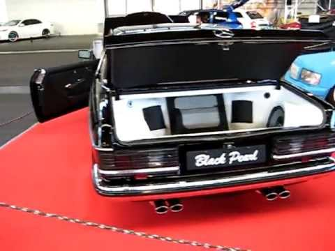 Awesome Mercedes Benz OLDSCHOOL Black Pearl