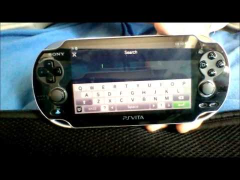 How to install youtube on a ps vita