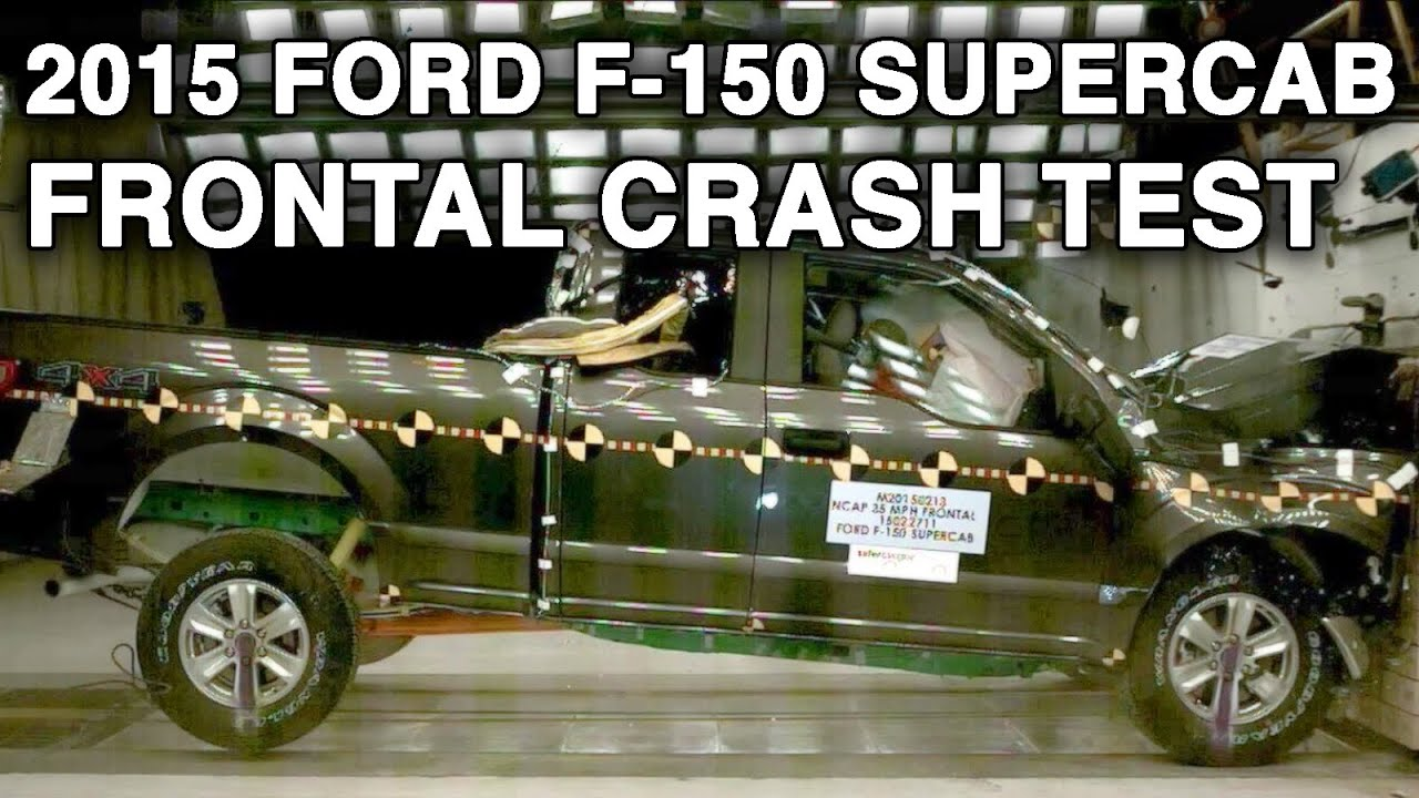 2015 ford f 150 supercab crash test frontal youtube. Black Bedroom Furniture Sets. Home Design Ideas