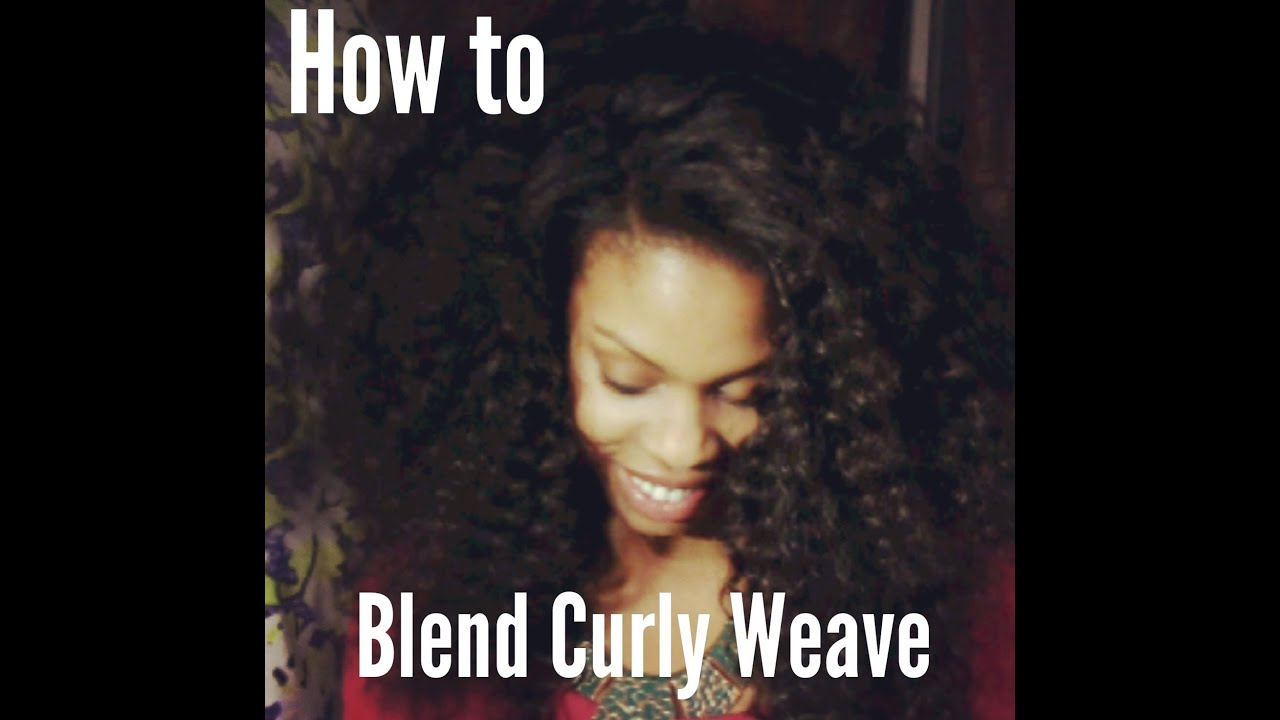 How to blend natural hair with curly weave using lux hair how to blend natural hair with curly weave using lux hair extensions pmusecretfo Gallery