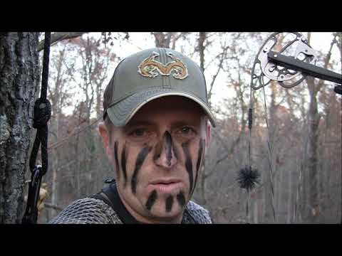 Illinois Public Land Self Filmed Deer Hunt. Video #1