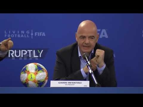 Italy: 48-team World Cup 2022 still a possibility, says FIFA president