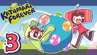 Katamari Forever / SUSHI ROLL! / Part 3 / Jaltoid Games