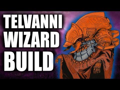 Skyrim SE Builds - The Telvanni Wizard - Remastered Build
