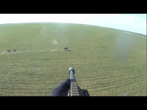 Helicopter Hog Hunt Slow Mo Kill Shots - It's A Wonderful World