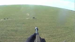 Helicopter Hog Hunt Slow Mo Kill Shots - It