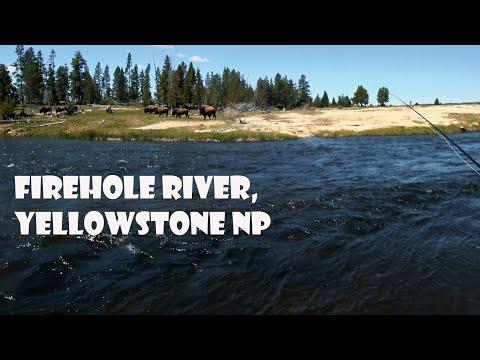Firehole River, Yellowstone Park Fishing