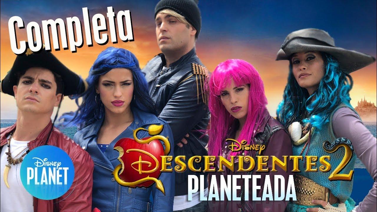 Descendentes 2 Planeteada Completa Disney Planet Youtube