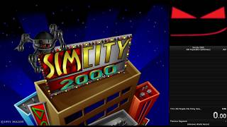 SimCity 2000 (DOS) - 30k population Speedrun in 2:27.25