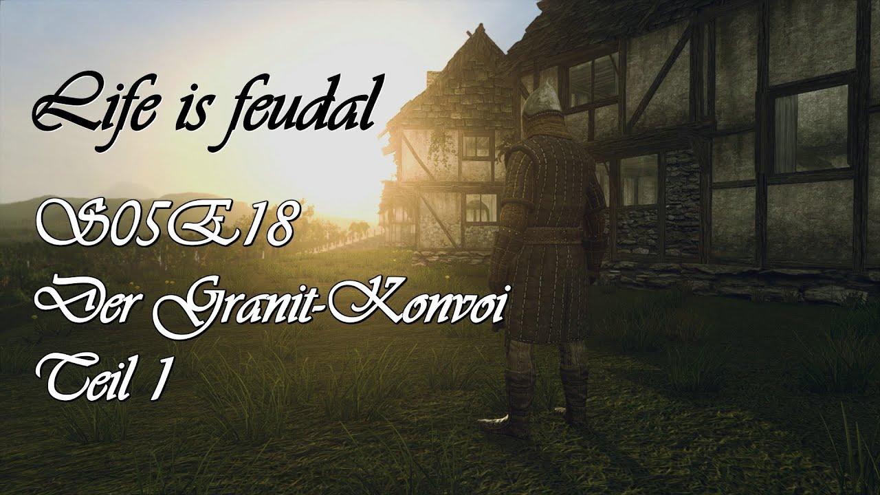 life is feudal s05e18 der granit konvoi teil 1 hd let 39 s play deutsch german youtube. Black Bedroom Furniture Sets. Home Design Ideas