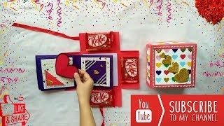 Birthday gift Box   DIY Love box   Handmad Photo box scrap book   How to make Gift box for birthday